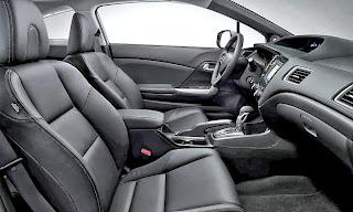 2013 Honda Civic seat