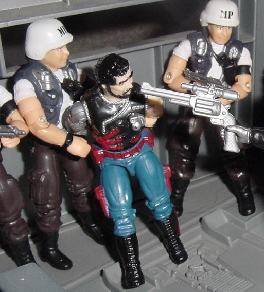 2000 Law and Order, ARAHC, Funskool Law, 1994 Countdown, 1983 G.I. Joe Headquarters, HQ, 2004 Comic Pack Grunt, Unproduced Caucasian Stalker, Funskool Mercer