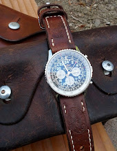 Nick's Breitling Cosmonaute on 1936 Swiss Ammo straps