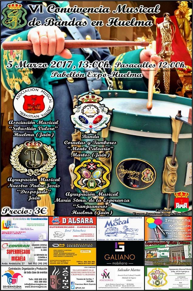 VI CONVIVENCIA MUSICAL DE BANDAS EN HUELMA