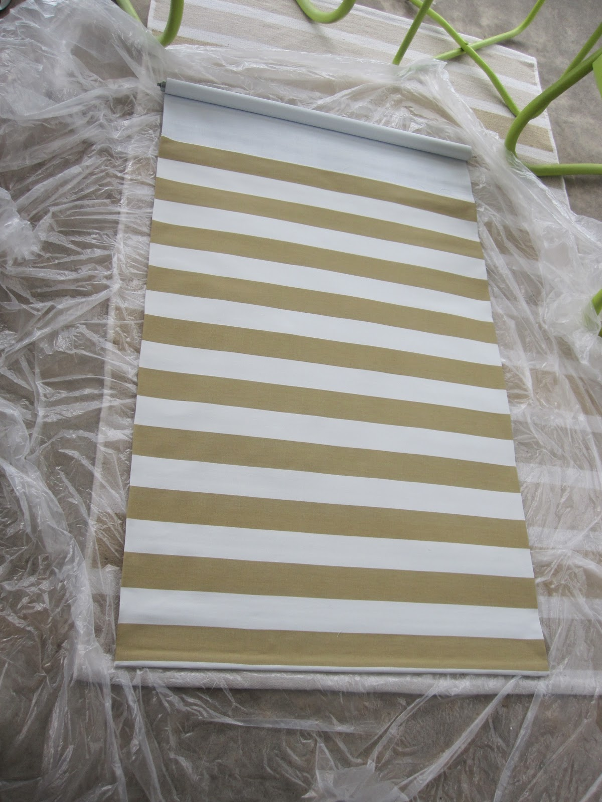 Fabric Roller Shades : Tdb fabric covered roller shade
