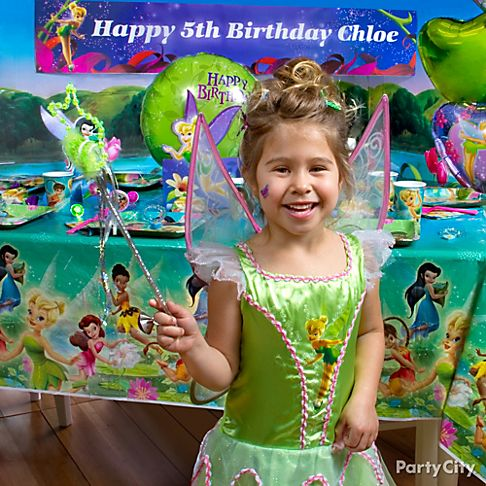 Tinkerbell Birthday Party Supplies