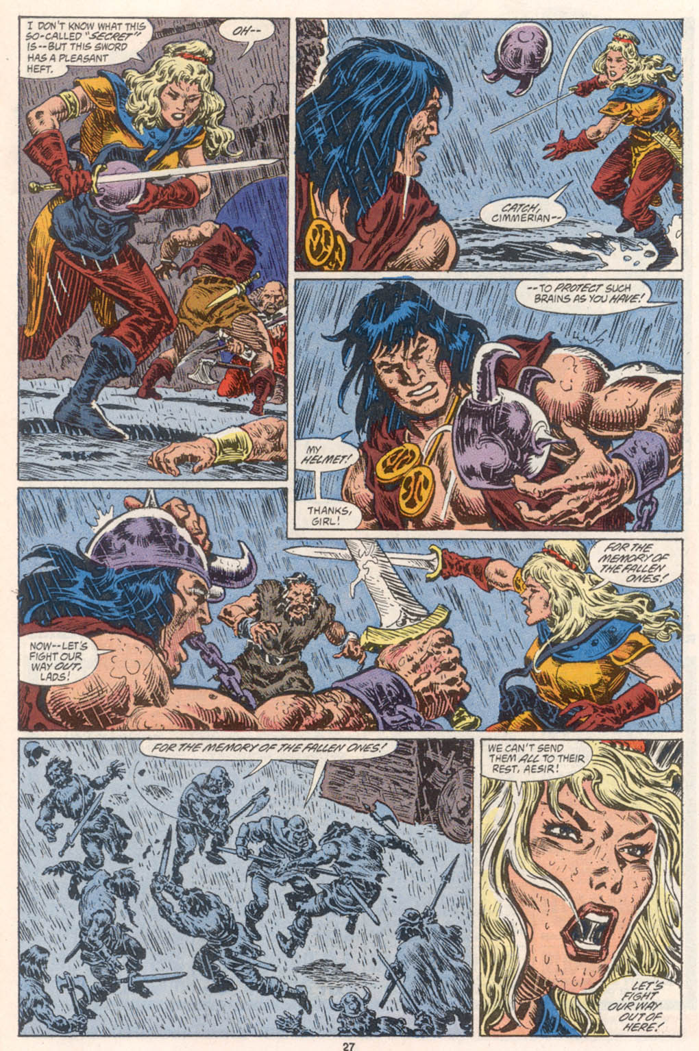 Conan the Barbarian (1970) Issue #254 #266 - English 21