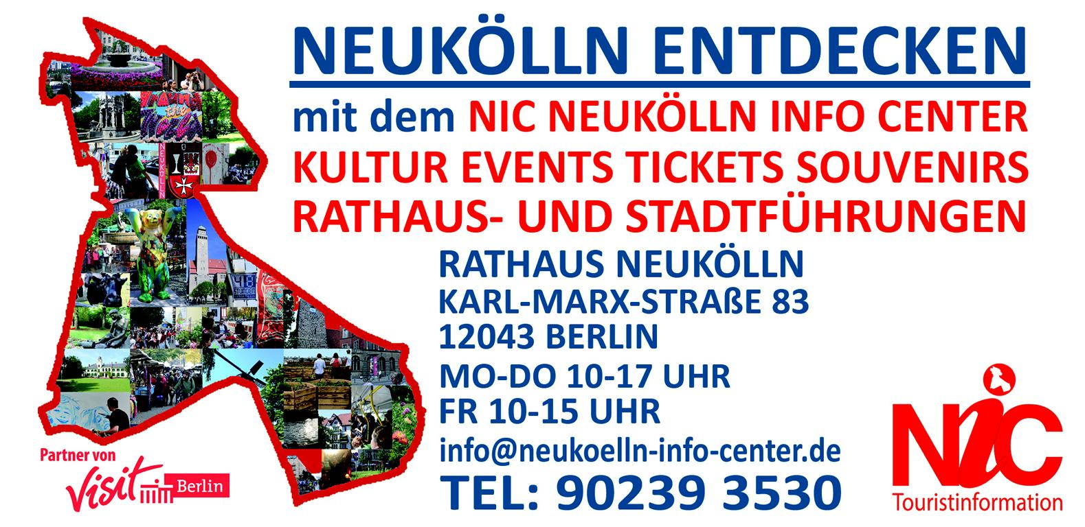NIC Neukölln Info Center Touristinformation