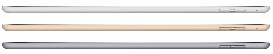 The thinnest iPad Air
