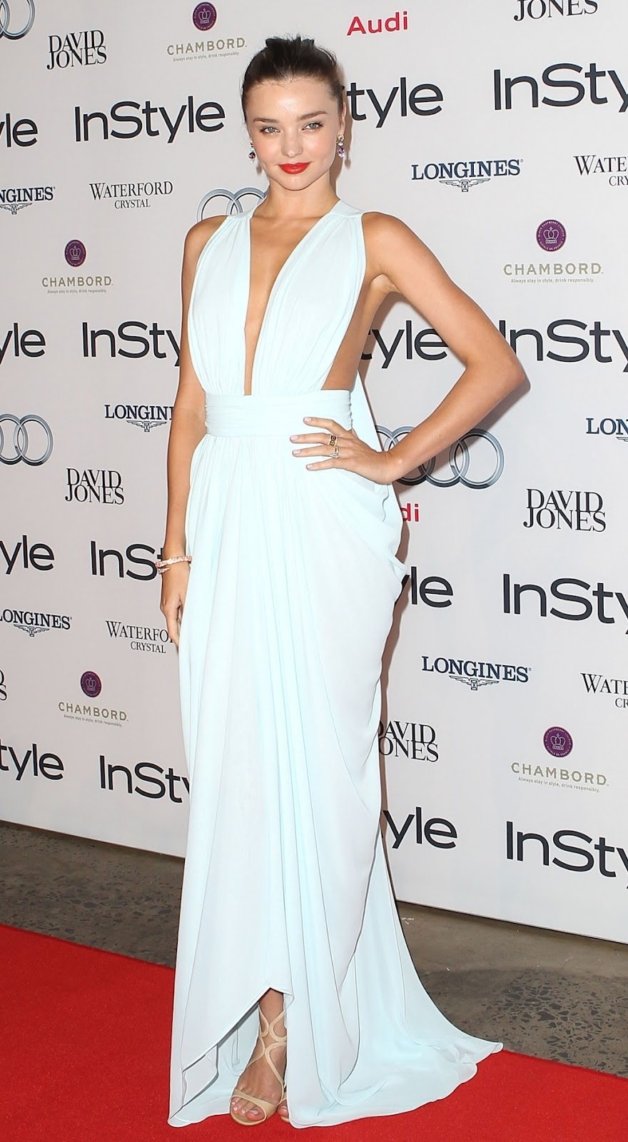 Miranda Kerr arrives at the 2012 Women Of Style Awards