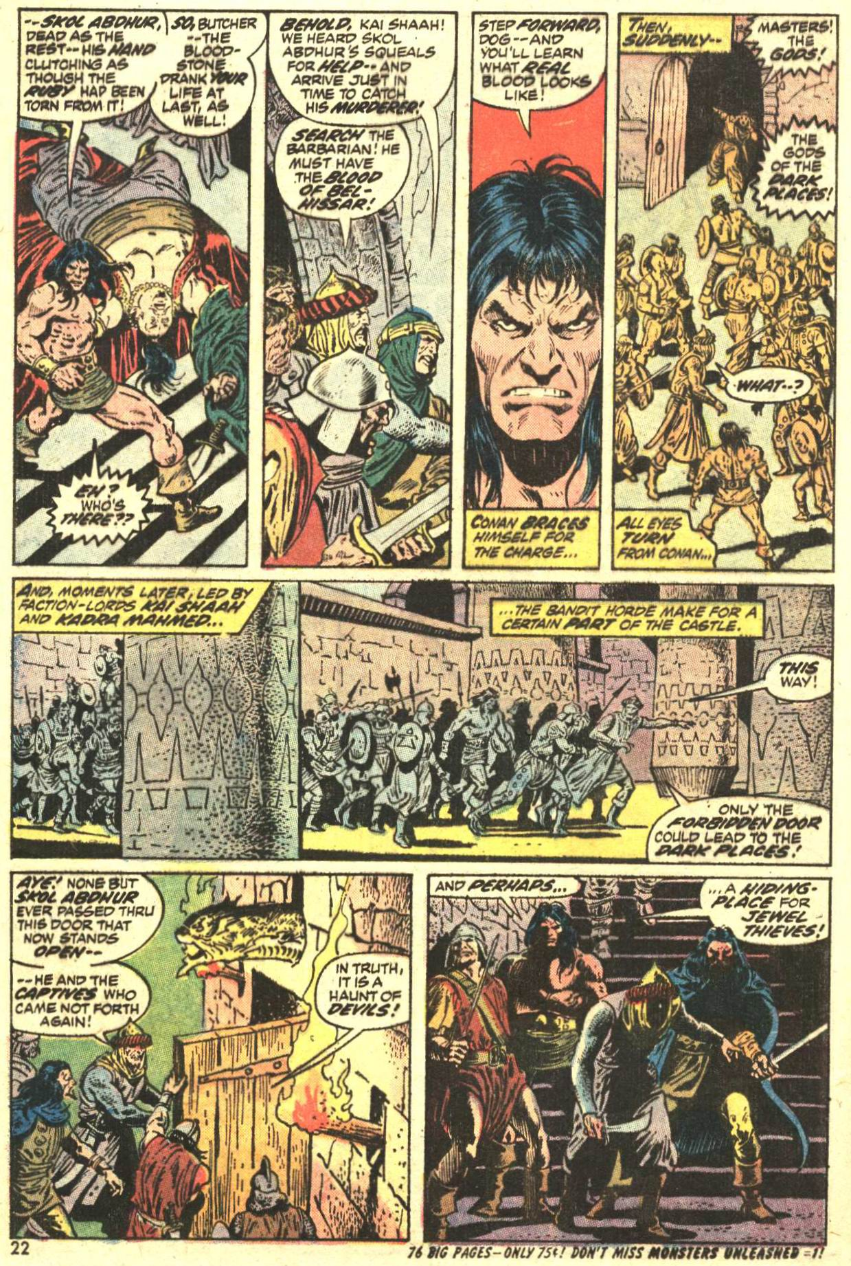 Conan the Barbarian (1970) Issue #27 #39 - English 17