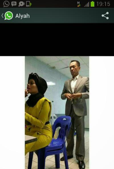 Gambar Bukti Dokumen Kahwin Ramli MS Dan Alyah Didedahkan