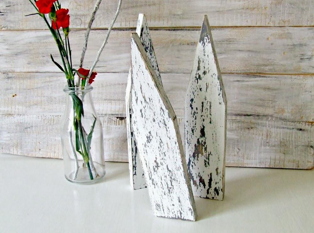 domki z drewna - skandynawska dekoracja handmade by Eco Manufaktura