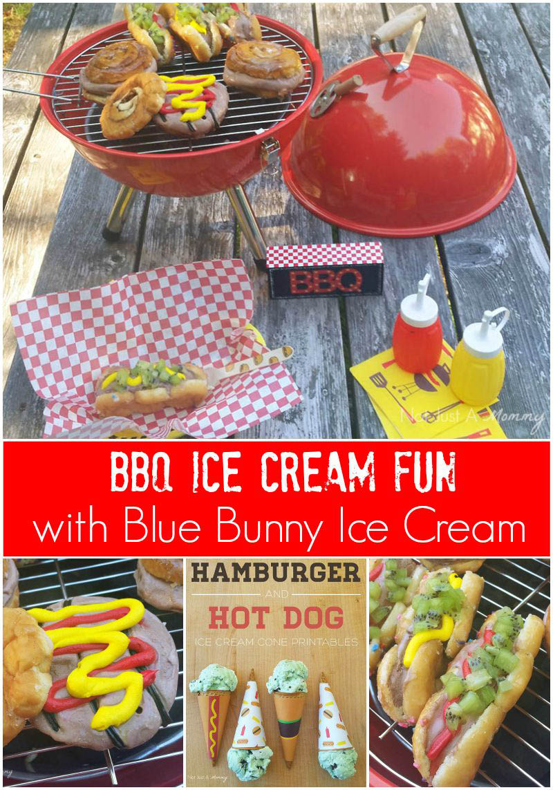Make BBQ Ice Cream Treats With @BlueBunnyIC + Free Printables