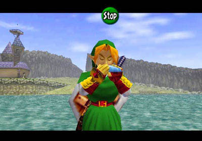 nintendo 3ds zelda ocarina of time 3d
