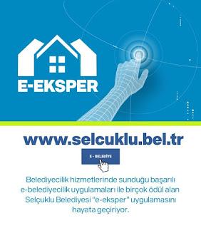 """SELÇUKLU'DA """"E-EKSPER"""" UYGULAMASI BAŞLIYOR"""