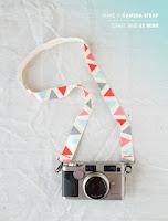 ペイントカメラストラップ