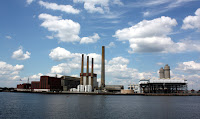 Natural gas power plant in Charlestown, Massachusetts. (Credit: exeloncorp.com) Click to Enlarge.