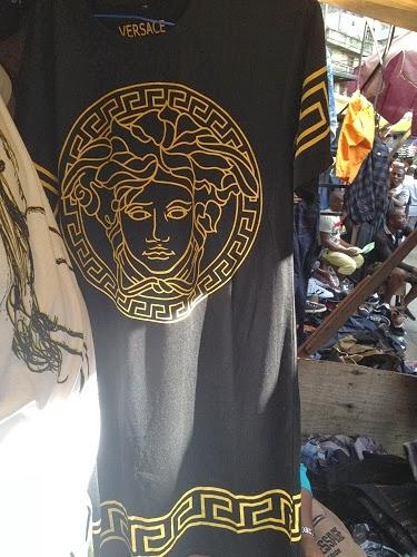 Welcome To Ladun Liadis Blog Fake Versace Dress Litters Town