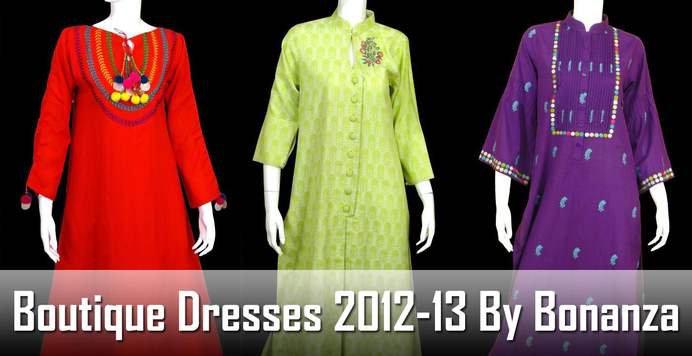 BoutiqueDresses2012 13ByBonanza Banner wwwFashionhuntworldBlogspotcom - Boutique Dresses 2012-13 By Bonanza