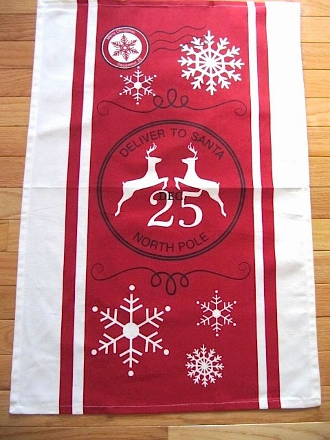 kitchen towel wall hanging