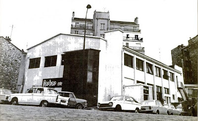 Los modernos Studios Ferber en 1973, propiedad del ingeniero René Ameline y donde el dúo Space Art grabó sus tres álbumes