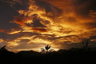 Panorama Senja yang Eksotik