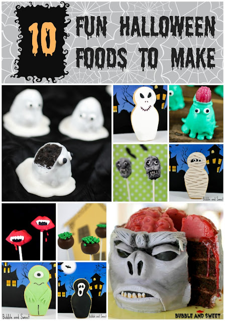 Bubble and Sweet: 10 Fun Halloween food ideas to make