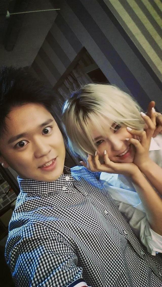 T-ara Hyomin BNT Staff