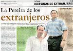"""ENTREVISTA EN EL DIARIO """"LA TARDE"""", DE PEREIRA (2.012)."""