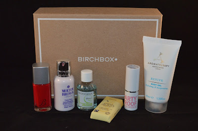 September 2013 UK Birchbox