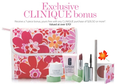 Daily Deals: The Bay: Clinique Free Gift With Purchase (Feb 9-27