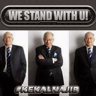 #KekalNajib