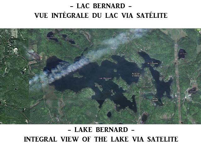 Lake Bernard, Wakefield - Masham (La Pêche, Quebec, Canada)