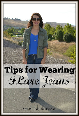 Tips for Wearing Flare jeans