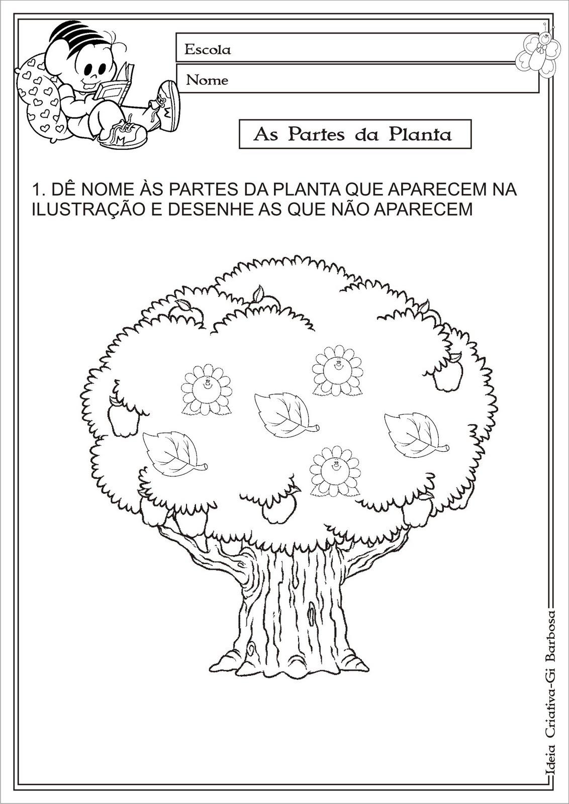 atividades horta pomar jardim educacao infantil:quinta-feira, 31 de maio de 2012
