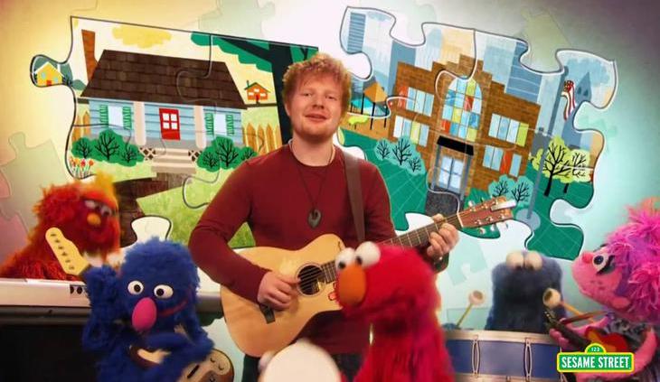 Ed Sheeran Muppets Show