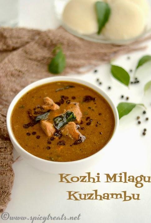 Kozhi Milagu Kuzhambu