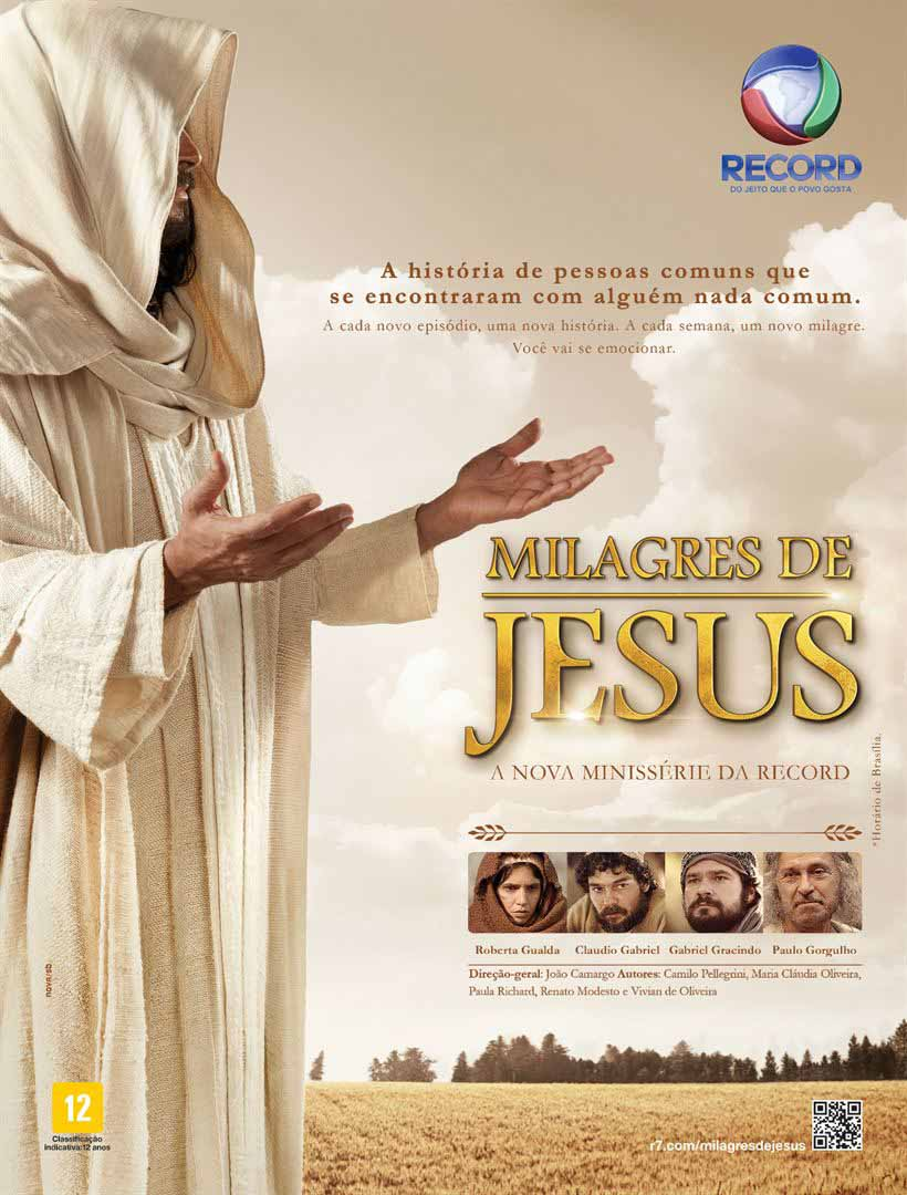 Milagres de Jesus: O Filme Torrent – HDTV 720p Nacional (2017)