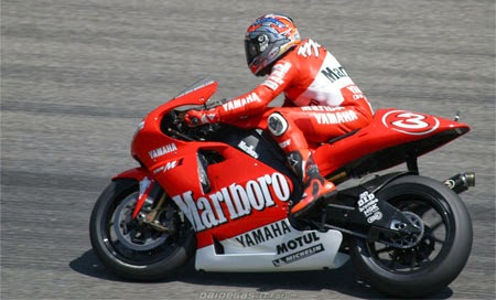 Gambar Motor GP Tim Marlboro Yamaha