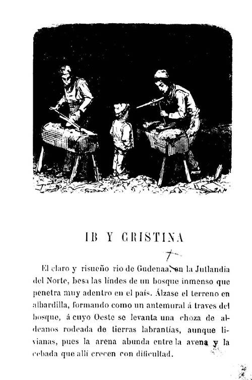 Escenas de corral de Hans Christian Andersen