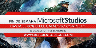 Descuento steam microsoft studios weekend