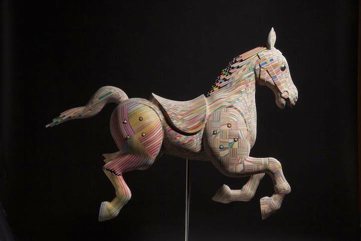 09-Horse-1-Haroshi-The-Art-of-Skateboarding-Made-into-Sculpture-www-designstack-co
