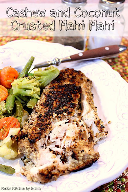 Cashew and Coconut Crusted Mahi-Mahi