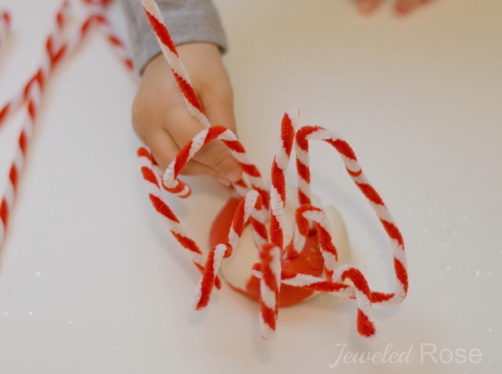 candy cane clay recipe growing a jeweled rose