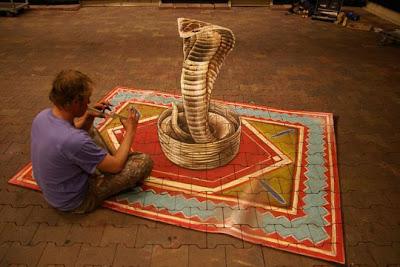 Lukisan 3D Paling Keren di Dunia