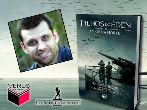 Eventos de Filhos do Éden, livro 2: Anjos da Morte do Eduardo Spohr e Verus Editora