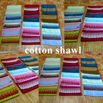 Handmade cotton shawl for sale..