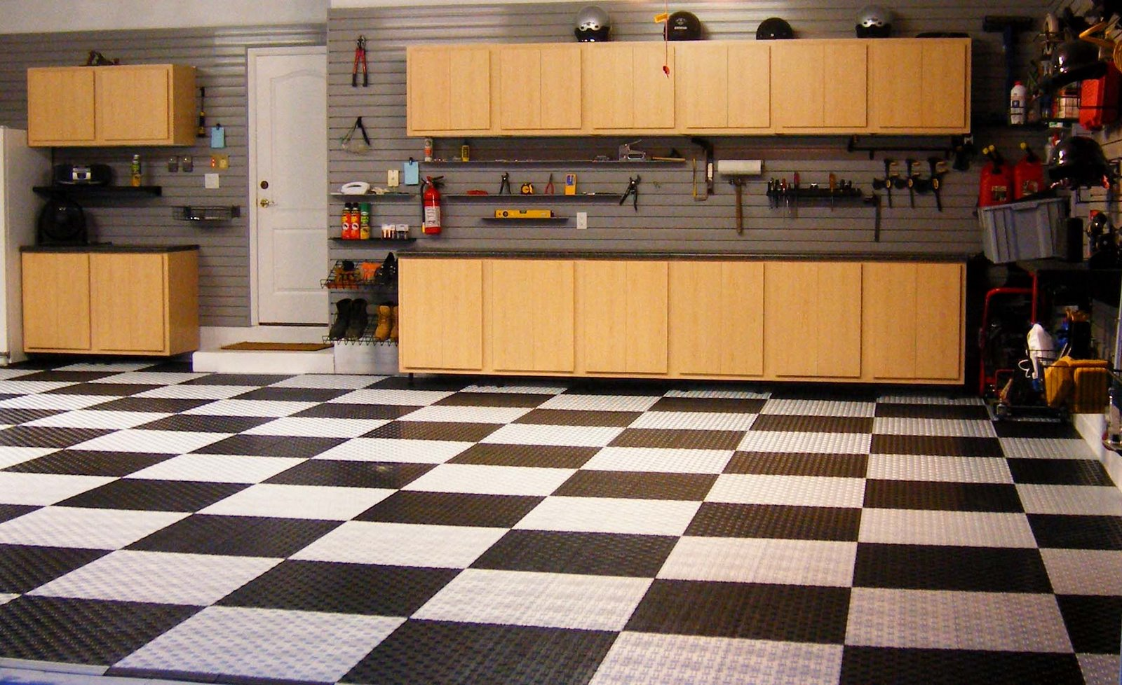 Michael blanchard handyman services for Garge floor