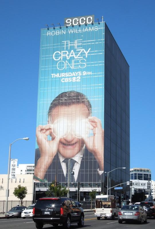 Giant The Crazy Ones billboard