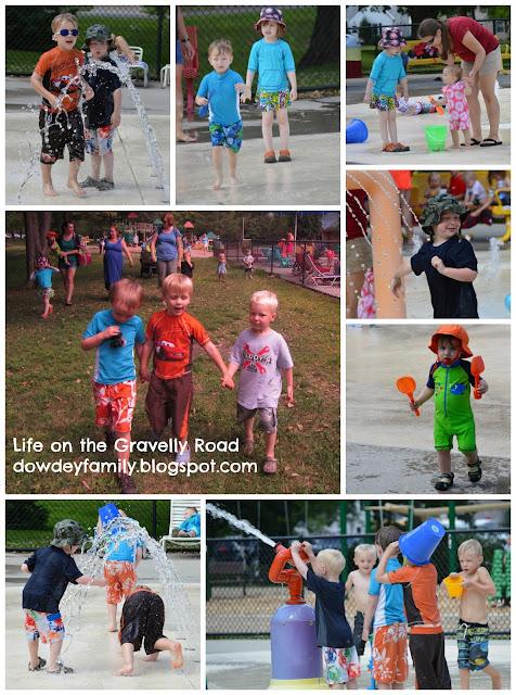 Park and Splash Pad Fun