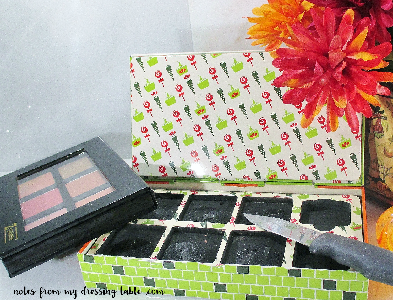 Depot Bulky Older Holiday Palettes Into Sleek Z Palettes! notesfrommydressingtable.com
