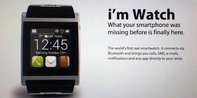 Google akan buat Jam Tangan pintar