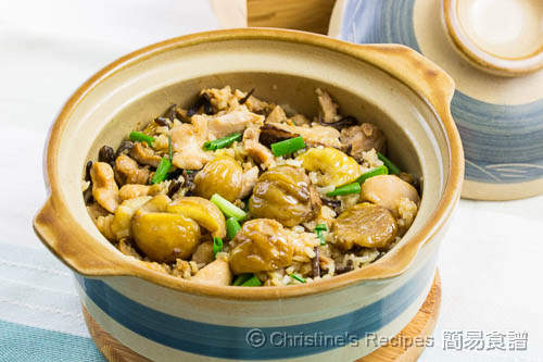 栗子雞煲仔飯 Claypot Rice with Chicken and Chestnuts02